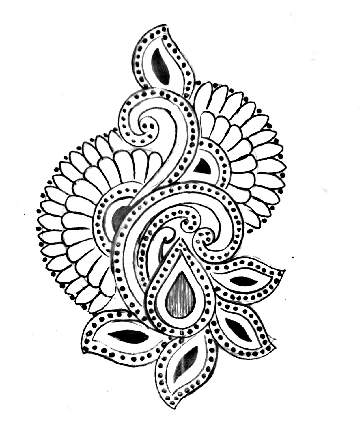 Hand embroidery designs sketches/embroidery pencil sketch/emroidery designs images free download