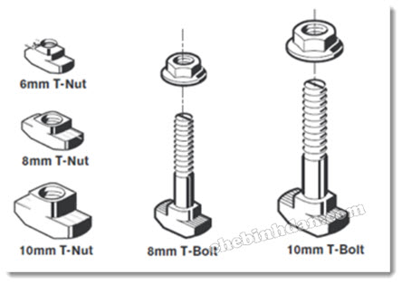 T-NUTS and T-BOLTS