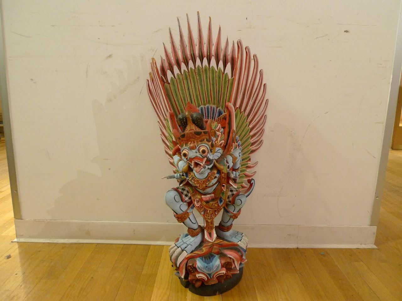 Garuda Wood Sculpture