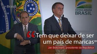 País de maricas:  Bolsonaro mistura homofobia e indecência e vira chacota no mundo