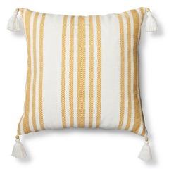 target stripe pillow