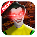 Scary Clown Neighbor Horror Game icon