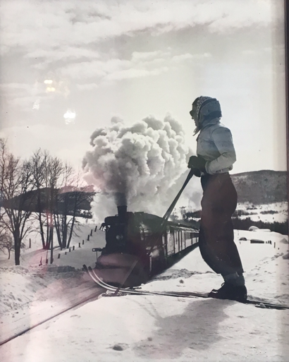 Skiing in the Laurentians back in the day