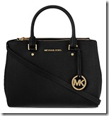 Michael Kors medium double zip satchel