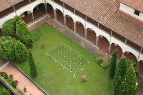 An Italian courtyard, Pisa