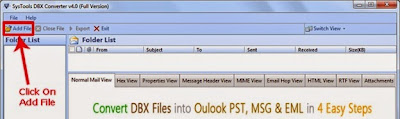 DBX to PST converter tool review
