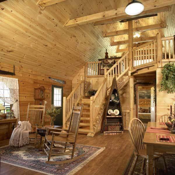 Casas de madera natural calidez r stica - Casas de madera natural ...