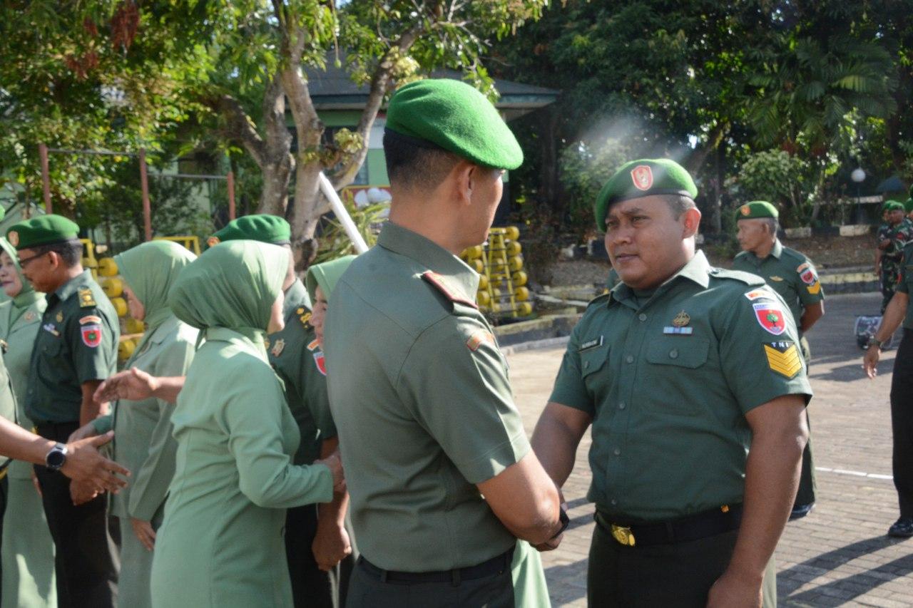 Korem 141/Tp Laksanakan Upacara Bendera Di Minggu Pertama Oktober, Ini Amanat Pandam XIV/Hsn