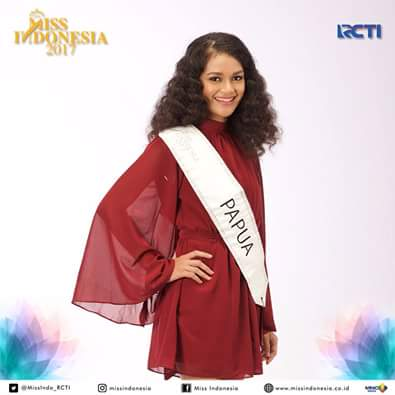 Beri Dukungan Untuk Sara G. Papare di Miss Indonesia 2017
