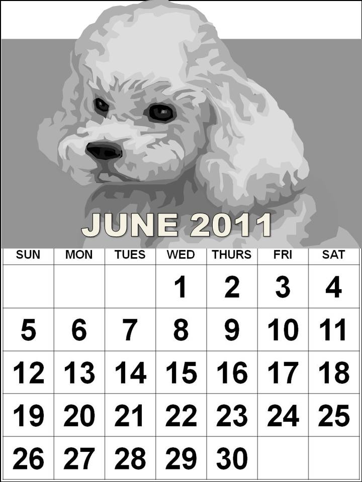 june 2011 calendar printable free. June 2011 Calendar colouring