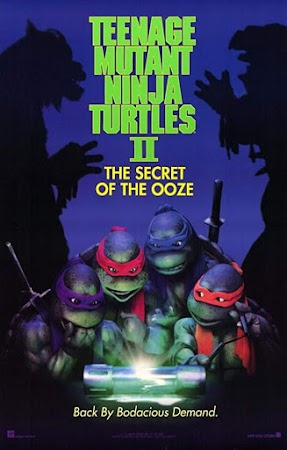 Poster Of Teenage Mutant Ninja Turtles II: The Secret of the Ooze 1991 In Hindi Bluray 720P Free Download