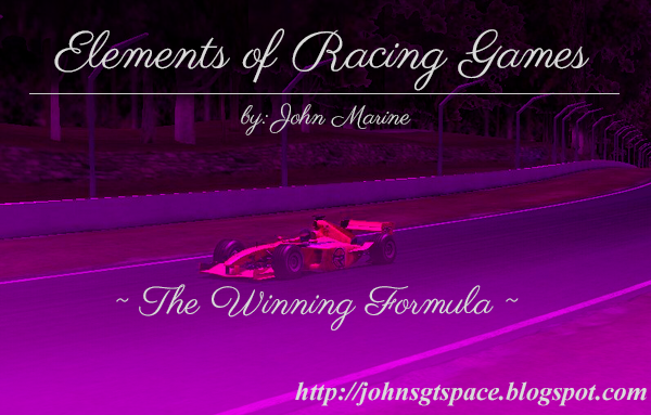 EORG Elements of Racing Games - The Winning Formula