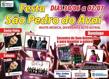 Festa Sao Pedro