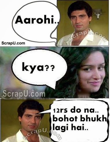 Raj Babbar ko Arohi - Aashiqi2-Funny-Pics pictures