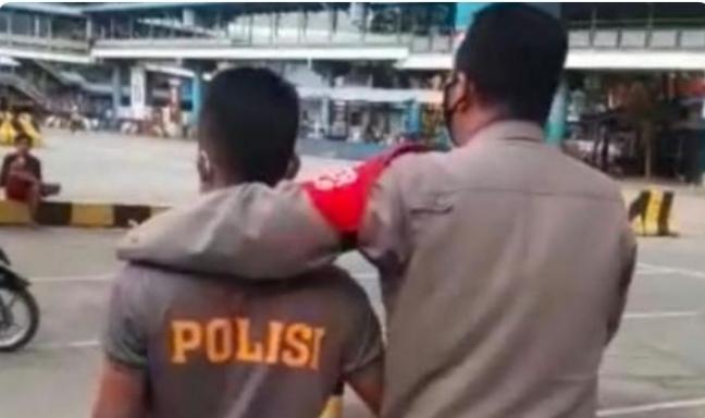 Kepergok Sedang Mencuri di Masjid, Polisi Gadungan Ditangkap di Pelabuhan Merak-Banten