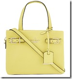 Kate Spade small leather tote