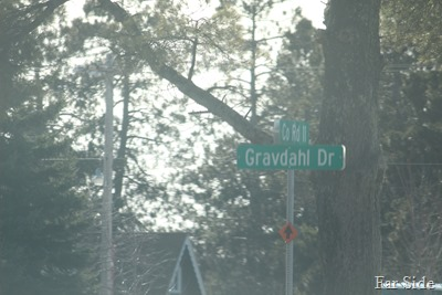 Streets named after a friend