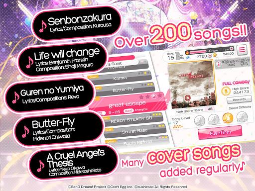 BanG Dream! Girls Band Party! modavailable screenshots 10