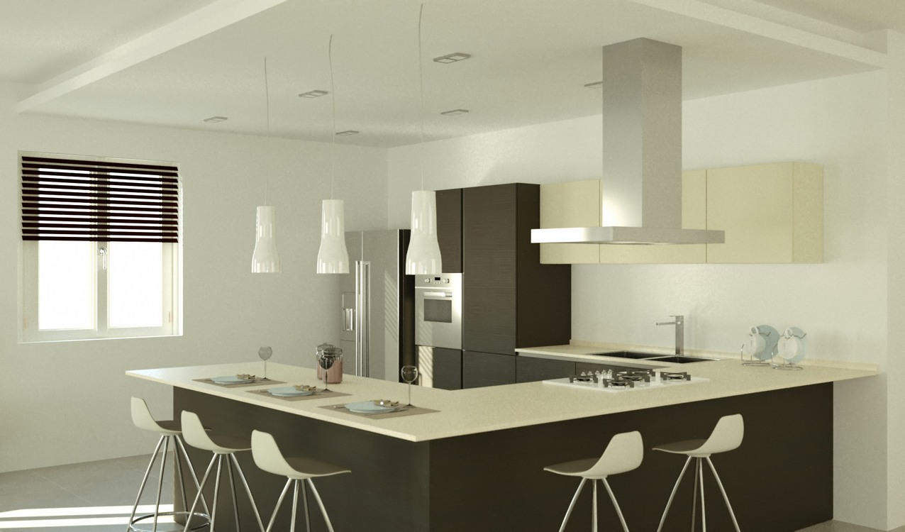 Awesome Progetti Cucine Moderne Images - Ideas & Design 2017 ...