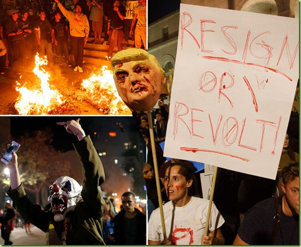 resign or revolt