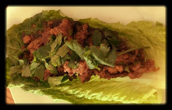 Hoisin Mixed Meat Lettuce Wraps Recipe