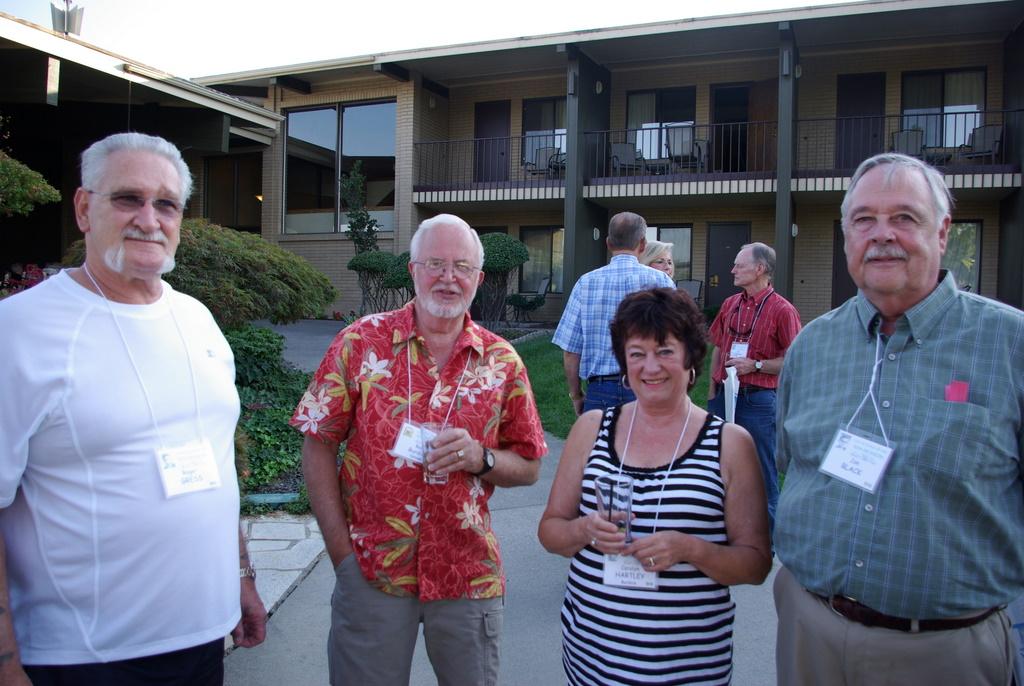 Roger Gress, Bud Burdick, Carolyn Hartley, Jon Black