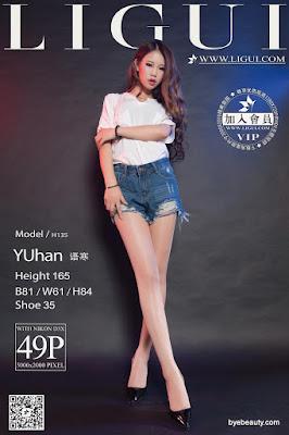 LiGui 2015.10.05 网络丽人 Model 语寒 [49P]