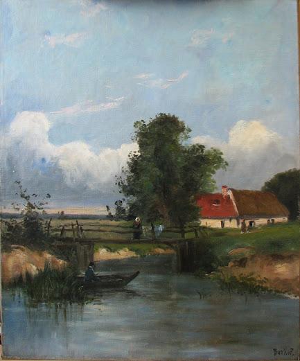 Barkof, Paysage, fin XIXème siècle