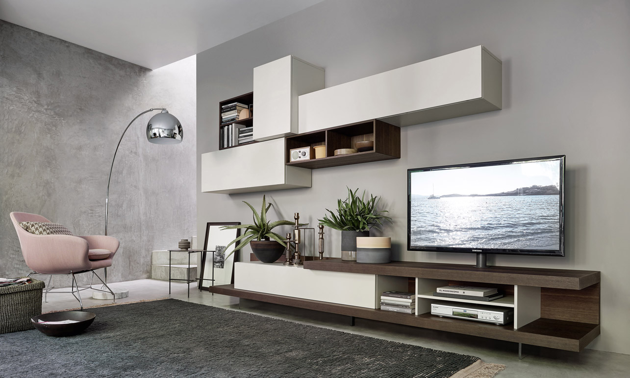 Salotti Moderni Con Camino : Soggiorno moderno con camino e tv interesting fabulous soggiorni