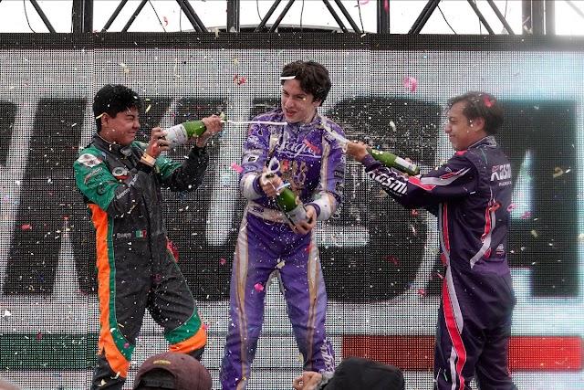 José Carlos Hernández se lleva el triunfo en la categoría Estelar X30 Sr de SKUSA México.