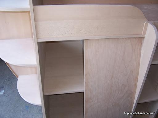 секция шкафа с раздвижной дверью