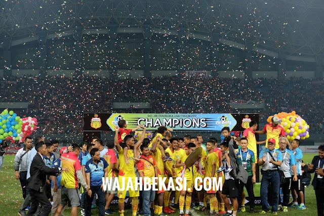 Bhayangkara FC juara Liga 1 2017