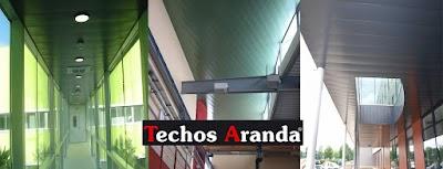 Techos aluminio Buitrago del Lozoya