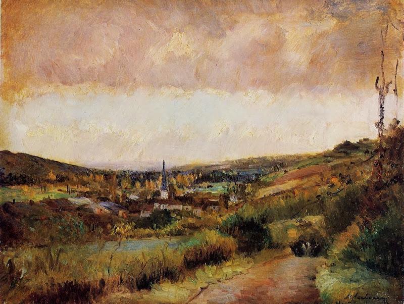 Albert Lebourg - The End of Autumn at Hondouville-sur-Iton