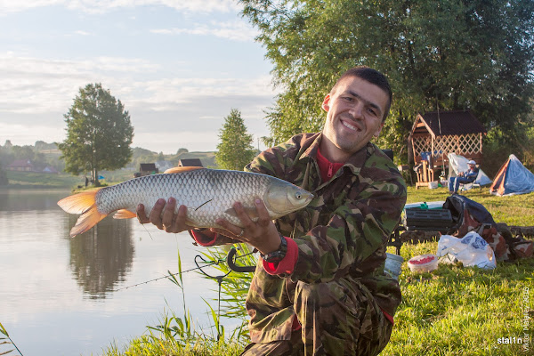 Перша риба - амур