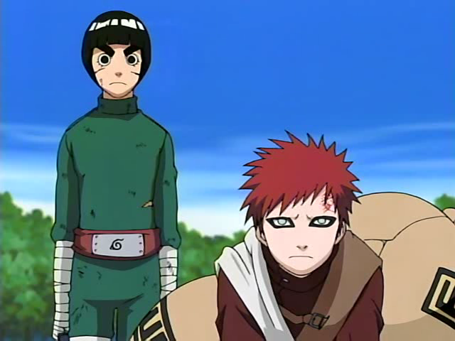 The Top 10 Best Teams In Naruto ⋆ Page 2 of 2 ⋆ Anime & Manga Gaara And Rock Lee Vs Kimimaro