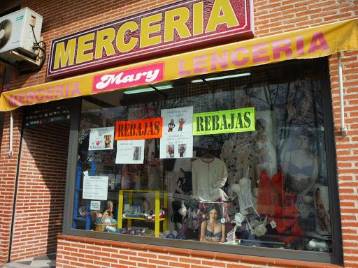 MERCERIA MARY, Artículos de Mercería, Lencería,Selmark, Ferry´s, Lanas