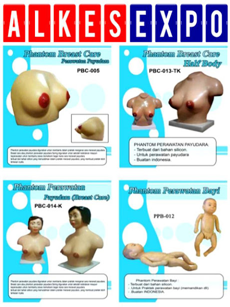 Phantom-Breast-Care-Half-Body-dan-Perawatan-Bayi-Alkes-Expo