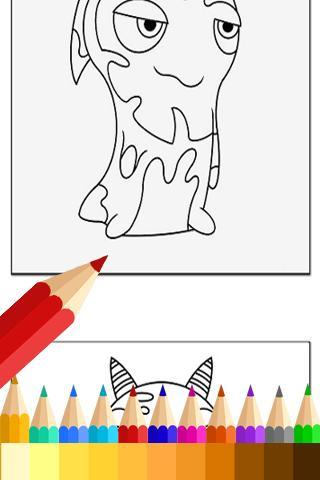 Coloring Book Slugterra Fans