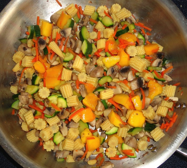 Thai Mango Coconut Vegetables with Rice 3