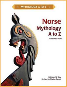 Cover of Kathleen Daly's Book Norse Mythology A to Z