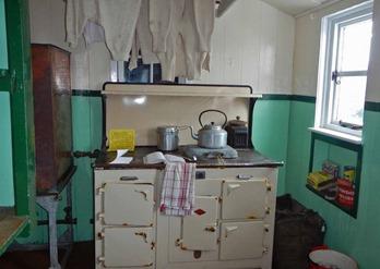 Küche Port Lockroy