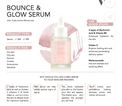 Manfaat Westcare Bounce and Glow Serum