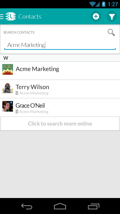 WORKetc CRM + Projects + More - screenshot