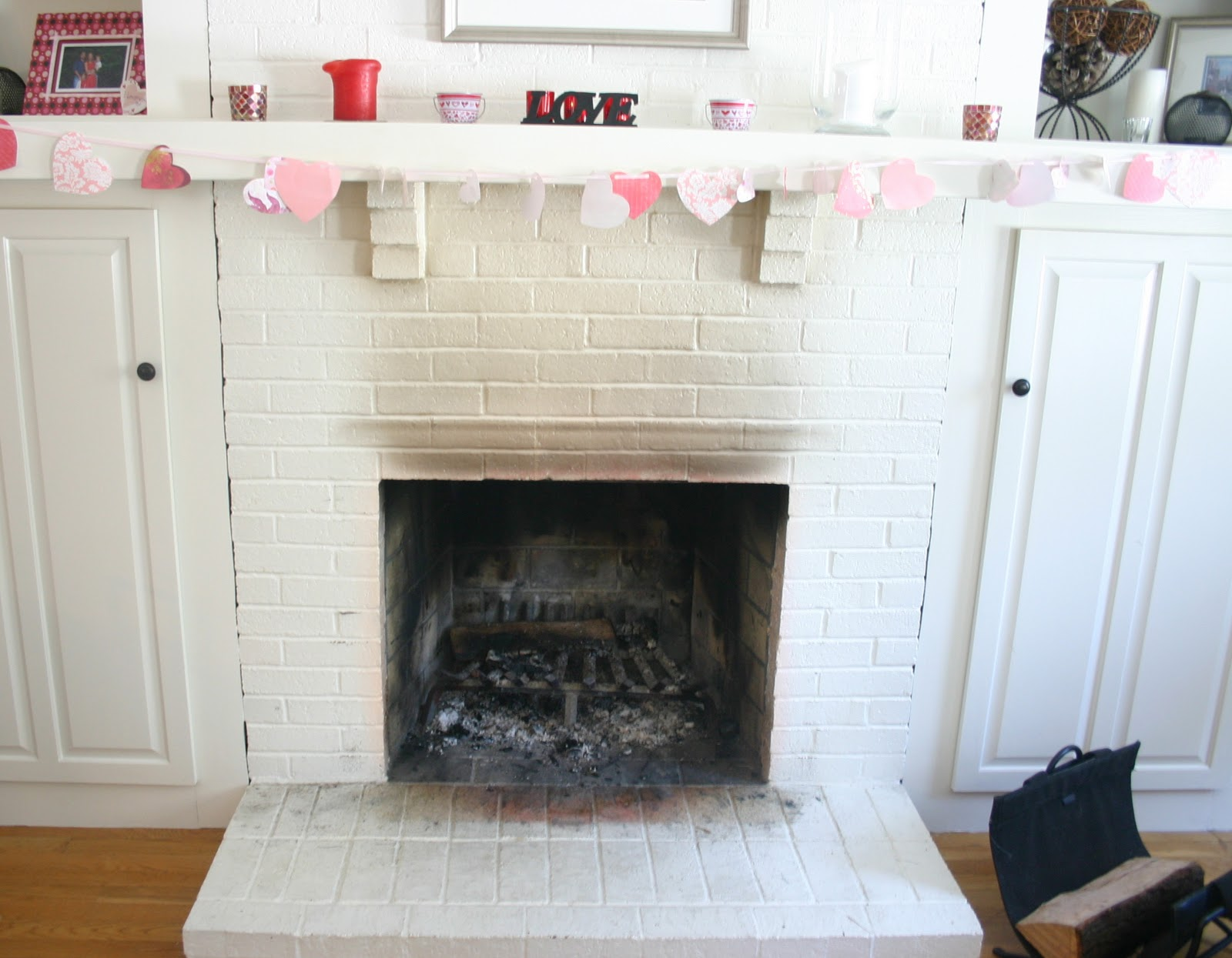 Shine Your Light: Painted Fireplace: Trial and Error