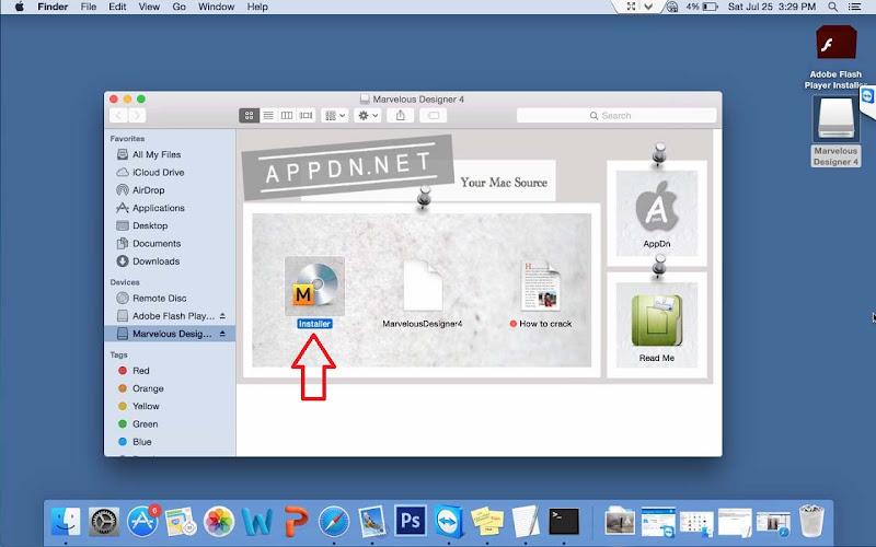 Hướng Dẫn Cài Thiết Kế 3D Marvelous Designer4 Trên Mac OS 1