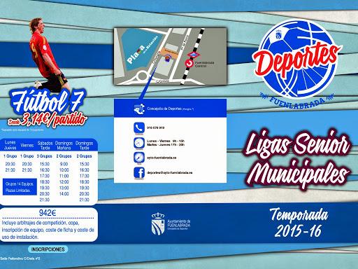 Comienza la inscripción para participar en las ligas senior municipales La inscripción comienza el próximo martes 14 de abril con la incorporación de la competición de Fútbol-7 de la pasada temporada.