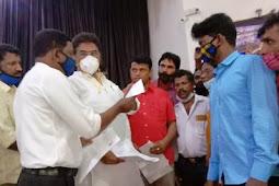 Appeal to Revenue Minister   ಡಿಸಿ ಮನ್ನಾ ಜಮೀನು ಅರ್ಹ ದಲಿತರಿಗೆ ಹಂಚಿ: ಕಂದಾಯ ಸಚಿವರಿಗೆ ಡಿಎಸ್ಎಸ್ ಆಗ್ರಹ