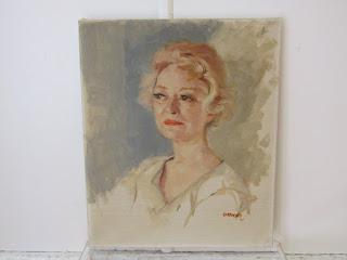 Grimes Portrait of a Woman 1961
