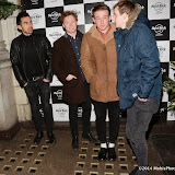 WWW.ENTSIMAGES.COM -   The Carnabys  at      Fight For Life Christmas party at Hard Rock Cafe, London December 9th 2014Annual festive party hosted by cancer charity in aide of The Fight For Life charity for children with cancer.                                                  Photo Mobis Photos/OIC 0203 174 1069